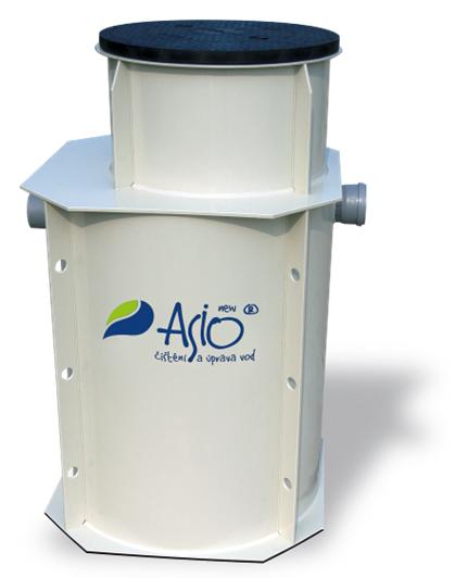 ČOV AS-iNUTRUCUT - čistiareň odpadových vôd